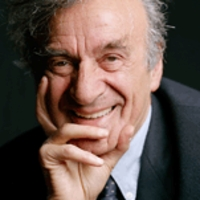 Present day photo of Elie Wiesel as an older man.