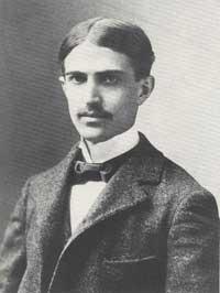 Photograph of poet, Stephen Crane.