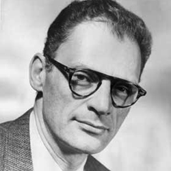 Photo of Arthur Miller.