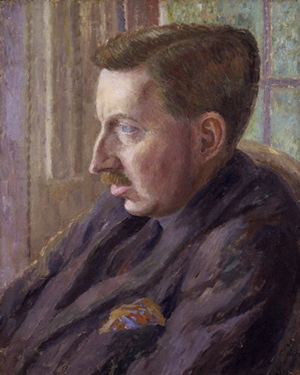 Oil painting of E.M. Forster.