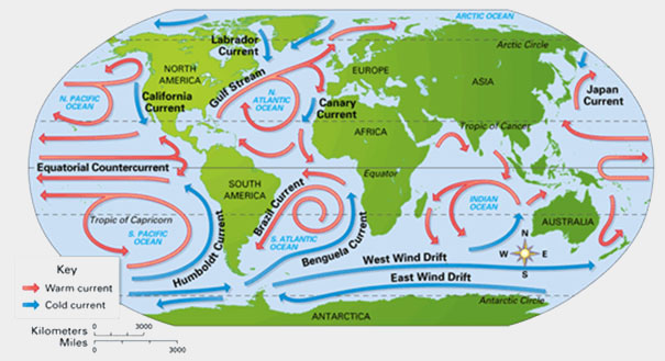pacific ocean currents names - photo #42