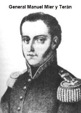 portrait of Manuel de Mier y Terán