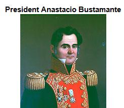 Portrait of President Anastacio Bustamante