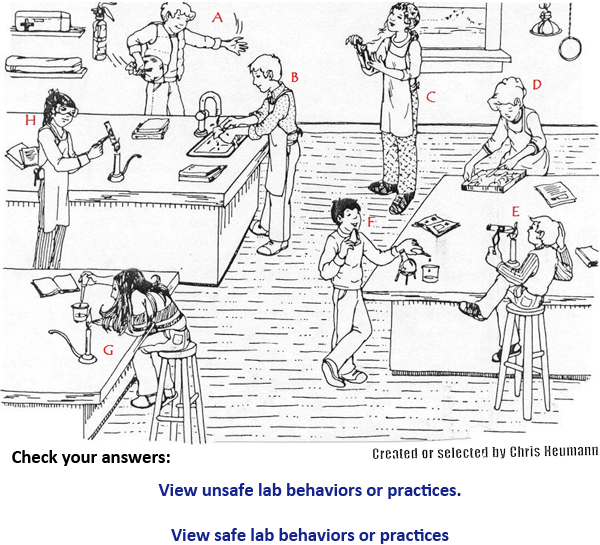 Printables Science Safety Worksheets view resource safety in the lab texas gateway explain why that behavior would be considered safe use letter of alphabet corresponds with students are exhibiting behavi