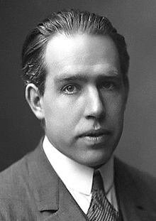 Image is of Niels Bohr