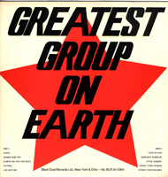 Greatest Group on Earth album cover