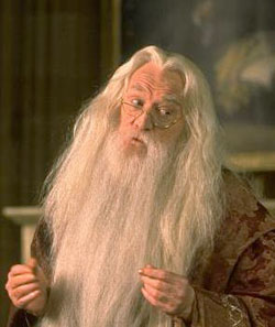 Image of Harry Potter character Dumbledore