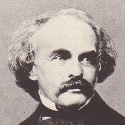 Photo of Nathaniel Hawthorne.