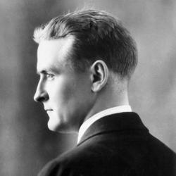 Photo of F. Scott Fitzgerald.