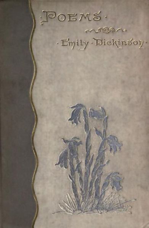 Book cover for Emily Dickinsons' Poems published in 1890