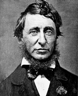 """Henry David Thoreau, author of """"Resistance to Civil Government."""""""