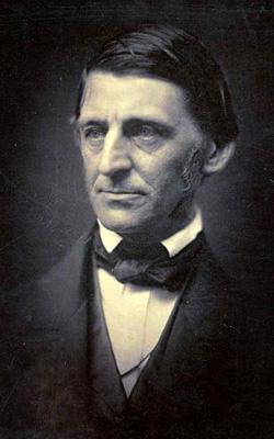 "Ralph Waldo Emerson. Author of ""Nature"""
