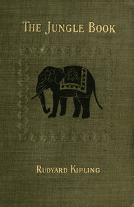 a photograph of a copy of The Jungle Book by Rudyard Kipling.