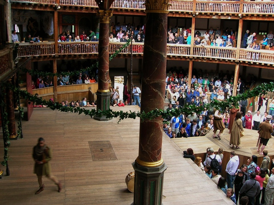 Shakespeare's Globe Theatre in London, England