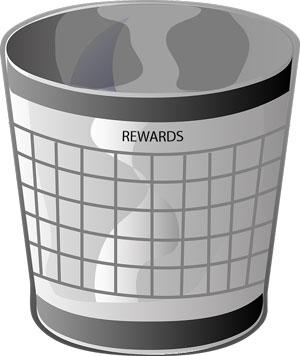 bucket with label of 'Rewards'
