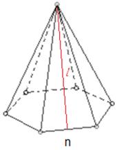 regular hexagonal pyramid