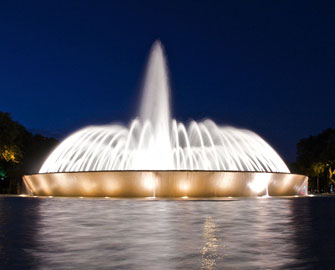 Mecom Fountain in Houston, Texas