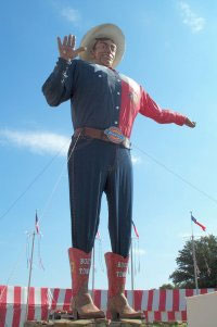 Big Tex at the Texas State Fairgrounds