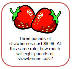 rates with strawberries