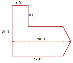 shape with measurements