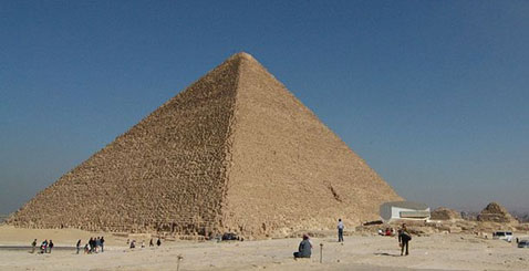 Cheops Pyramid, Giza, Egypt