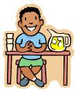 Young man at a lemonade stand