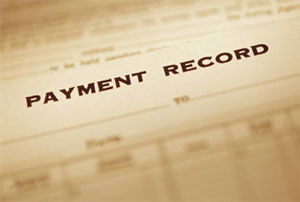image of payment record