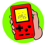 handheld video game device