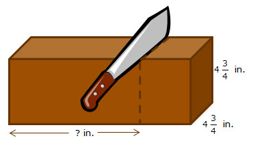rectangular prism with dimensions labeled