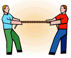 often more than one force can act upon an object at a time and the