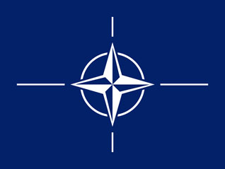 image of the NATO flag