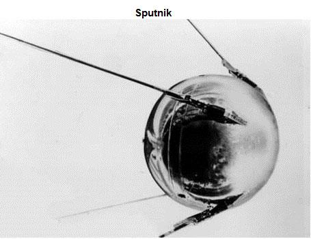 Image of the satellite Sputnik