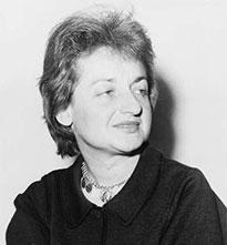 Portrait of Betty Friedan