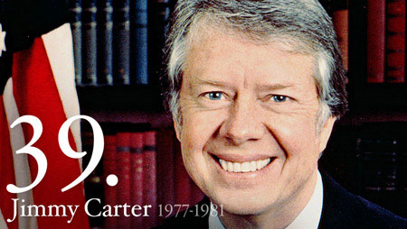 Image of a portrait of President Jimmy Carter